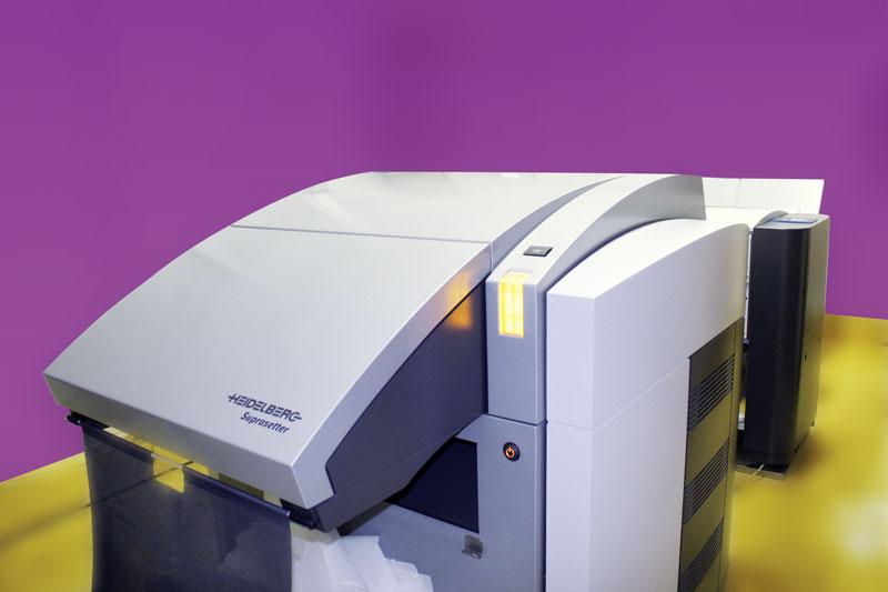 gravure CTP sans chimie imprimerie Lefevre, imprimerie LEFEVRE, en Essonne il de France